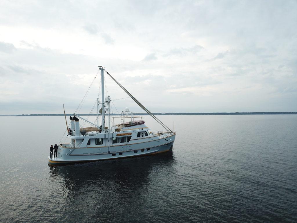 Image of Wanderbird at anchor