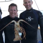 Photo after free-diving for Lobster